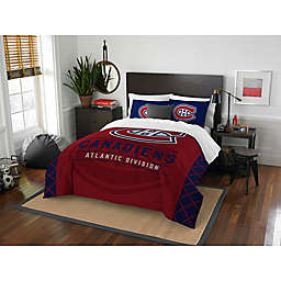 NHL Montreal Canadiens Draft Comforter Set