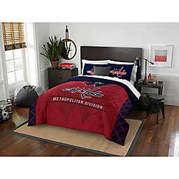 NHL Washington Capitals Draft Comforter Set