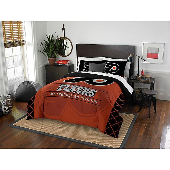 NHL Philadelphia Flyers Draft Comforter Set | Bed Bath & Beyond