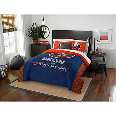 NHL New York Islanders Draft Comforter Set