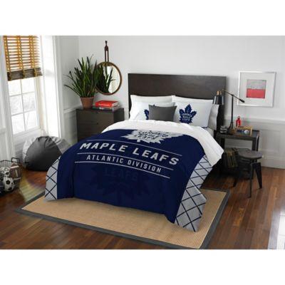 superior quality d8447 62f3f NHL Toronto Maple Leafs Draft Comforter Set