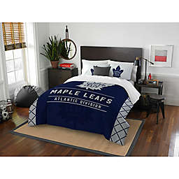 NHL Toronto Maple Leafs Draft Comforter Set