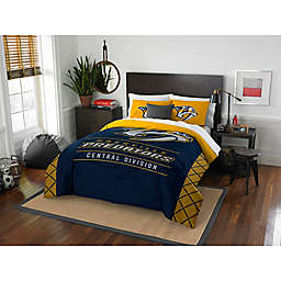 NHL Nashville Predators Draft Comforter Set
