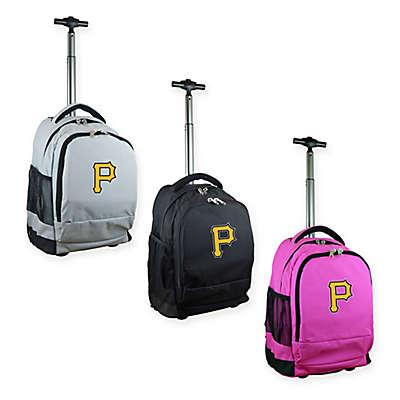 MLB Pittsburgh Pirates 19-Inch Wheeled Backpack
