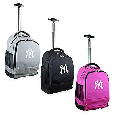 MLB New York Yankees 19-Inch Wheeled Backpack