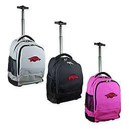 University of Arkansas 19-Inch Wheeled Backpack