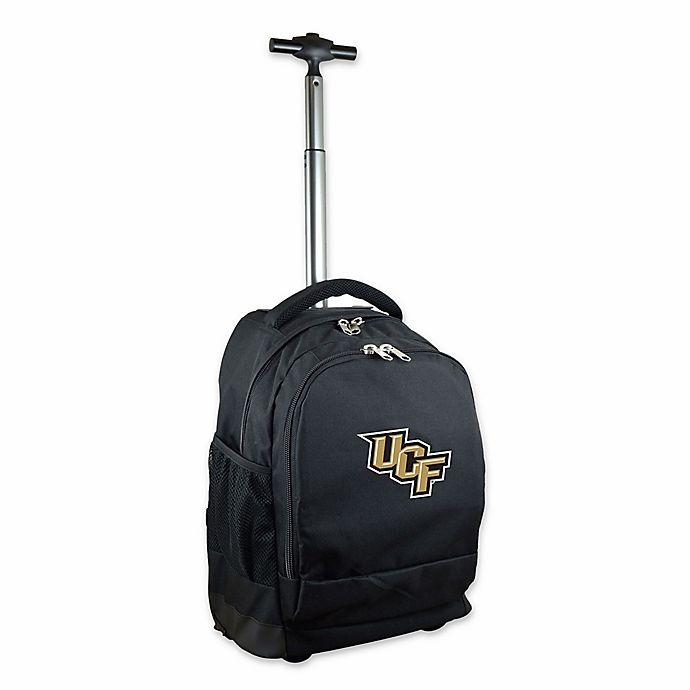 Alternate image 1 for University of Central Florida 19-Inch Wheeled Backpack in Black