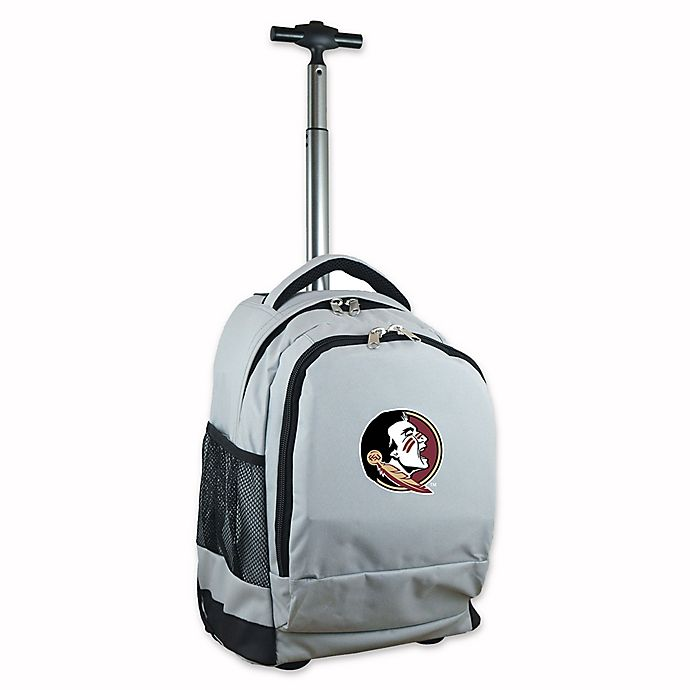 Alternate image 1 for Florida State University 19-Inch Wheeled Backpack in Grey