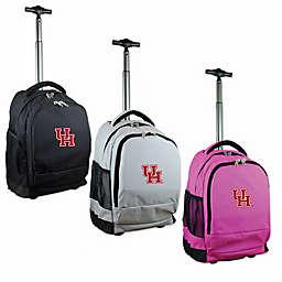 University of Houston 19-Inch Wheeled Backpack