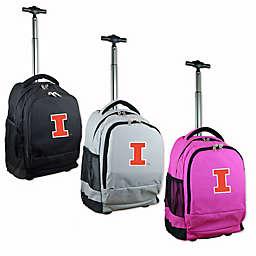 University of Illinois 19-Inch Wheeled Backpack