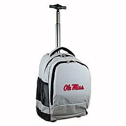 University of Mississippi 19-Inch Wheeled Backpack