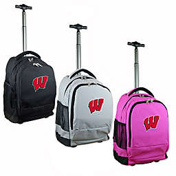 University of Wisconsin 19-Inch Wheeled Backpack