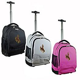 University of Wyoming 19-Inch Wheeled Backpack