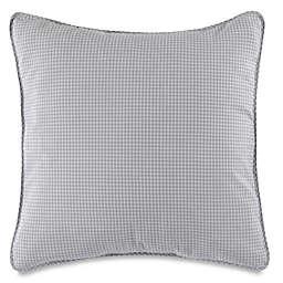 Barbara Barry Capri Check European Pillow Sham in Cloud