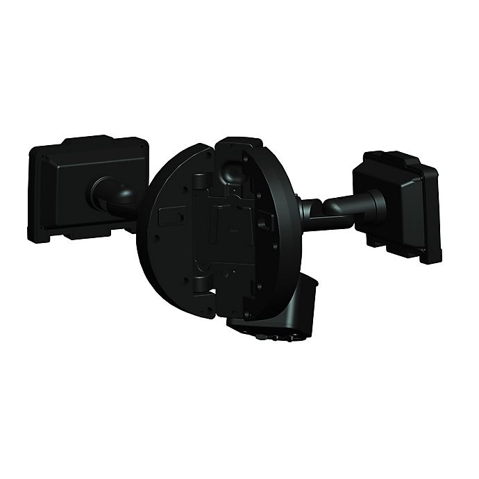 Alternate image 1 for 120 LED Dual Lamp Corner Mount Solar Security Light