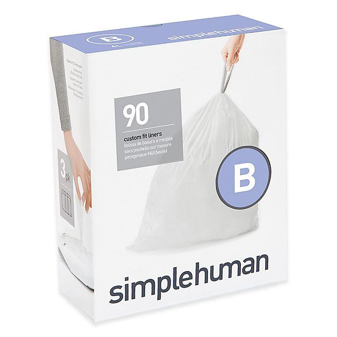 Alternate image 1 for simplehuman® Code B 6-Liter Custom Fit Liners