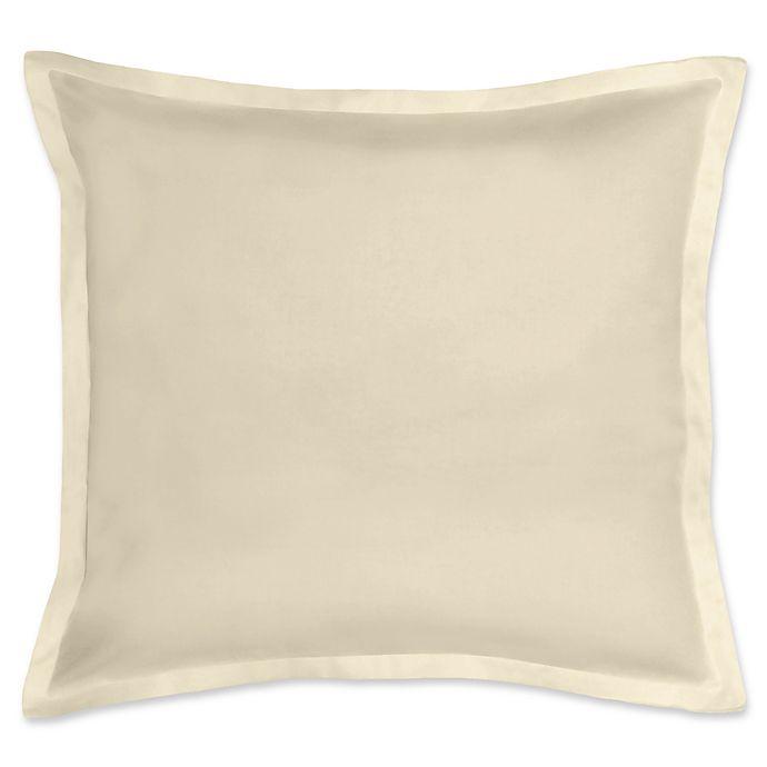 Alternate image 1 for 300-Thread-Count Cotton European Pillow Sham