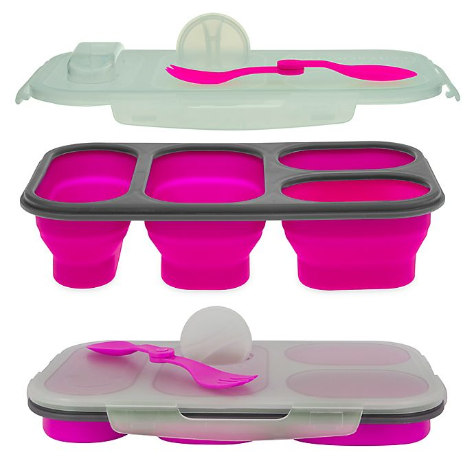 Alternate image 1 for SmartPlanet Portion Perfect Collapsible Meal Kit