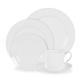 Nevaeh White® by Fitz and Floyd® Grand Rim Dinnerware Collection