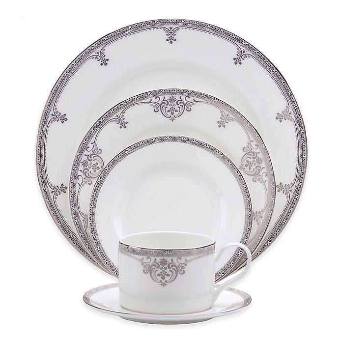 Alternate image 1 for Oneida® Michelangelo Platinum 20-Piece Dinnerware Set