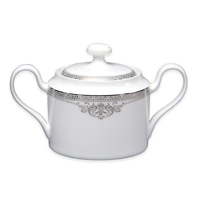 Alternate image 1 for Oneida® Michelangelo Platinum Covered Sugar Bowl