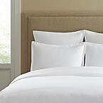 300-Thread-Count Cotton Standard Pillow Sham in White