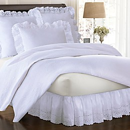Smootheweave™ Ruffled Eyelet Bed Skirt