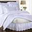 Part of the Smootheweave™ Ruffled Eyelet Bed Skirt