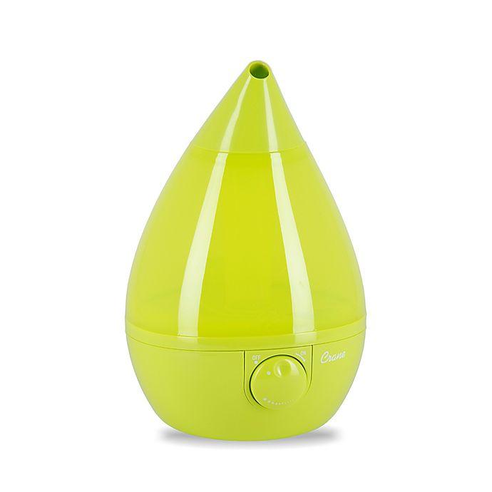 Alternate image 1 for Crane Ultrasonic Cool Mist Drop Shape Humidifier in Green
