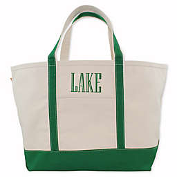 CB Station Large Boat Tote in Emerald