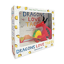 """Children's Book and Toy Set: """"Dragons Love Tacos"""" by Adam Rubin"""