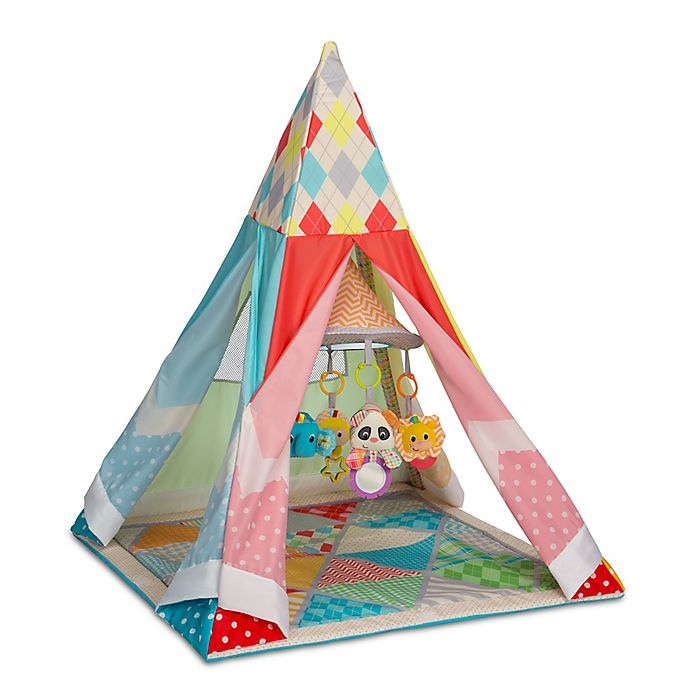 Alternate image 1 for Infantino® Grow-With-Me Playtime Teepee Gym