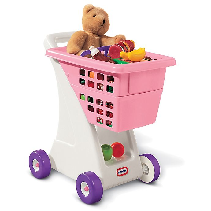 Alternate image 1 for Little Tikes® Shopping Cart in Pink
