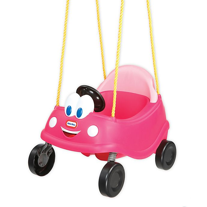 Alternate image 1 for Little Tikes Princess Cozy Coupe® First Swing