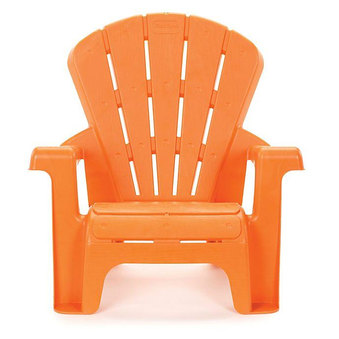 Terrific Little Tikes Garden Chair In Orange Squirreltailoven Fun Painted Chair Ideas Images Squirreltailovenorg