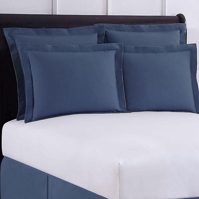 Alternate image 1 for Wrap-Around Wonderskirt Standard Pillow Sham in Blue