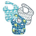 Bumkins® 3-Pack SuperBib in Sea Friends