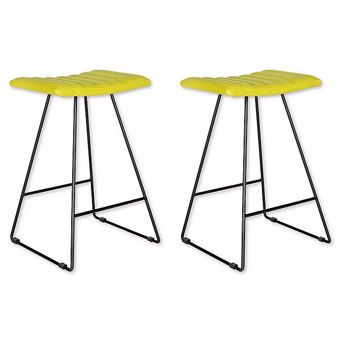 Alternate image 1 for Safavieh Akito Counter Stool in Green