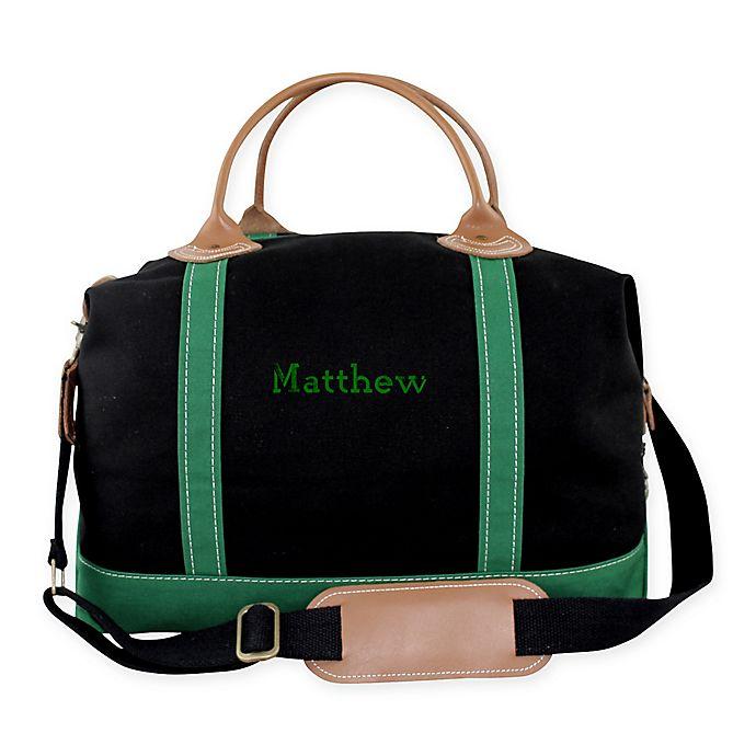 Alternate image 1 for CB Station Color Weekender Bag in Black/Emerald