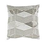 Callisto Home Geo Accent Pillow in Cream