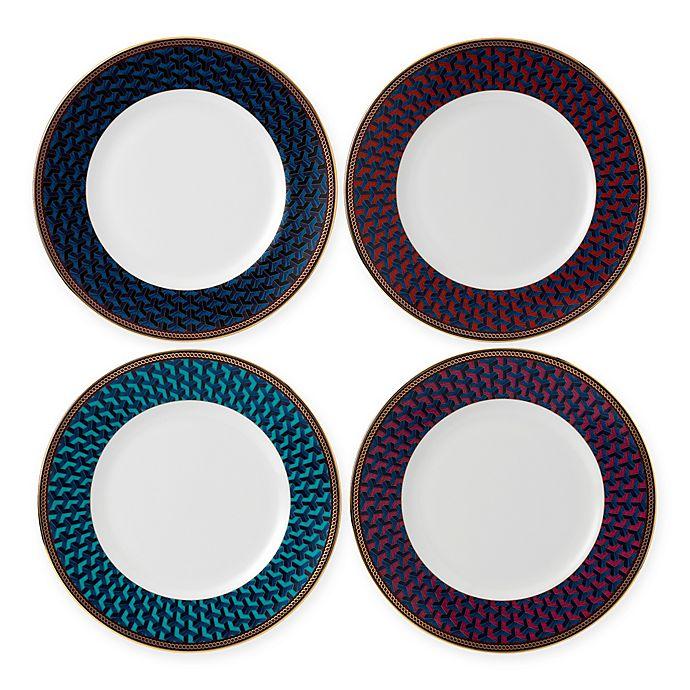 Alternate image 1 for Wedgwood® Byzance Salad Plates (Set of 4)