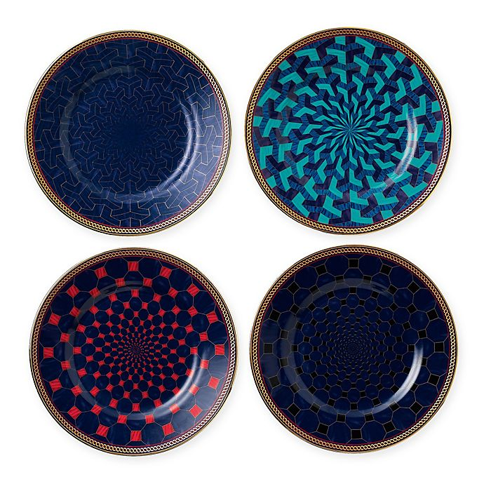 Alternate image 1 for Wedgwood® Byzance Bread and Butter Plates (Set of 4)