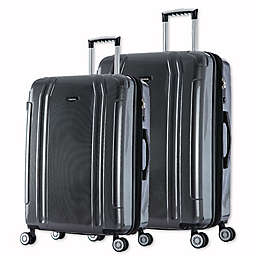 InUSA SouthWorld 2-Piece Spinner Luggage Set with 23-Inch and 27-Inch Suitcases