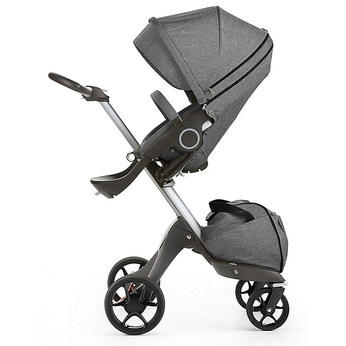 Alternate image 1 for Stokke® Xplory® Stroller in Black Melange