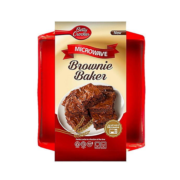 Alternate image 1 for Betty Crocker Microwave Brownie Baker