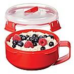 Sistema Microwave Breakfast Bowl in Red
