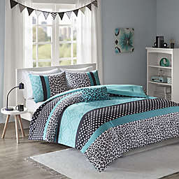 Mi Zone Chloe Full/Queen Comforter Set in Teal