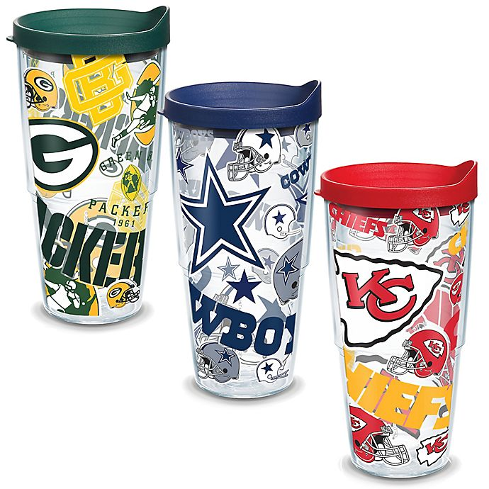 Alternate image 1 for Tervis® NFL Allover Wrap Drinkware with Lid