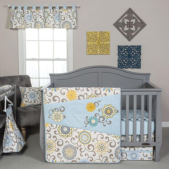 Trend Lab 174 Waverly Pom Pom Spa Crib Bedding Collection