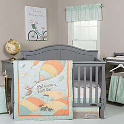 Trend Lab® Dr. Seuss™ Oh! The Places You'll Go Crib Bedding Collection in Orange/Yellow
